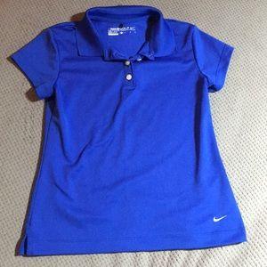 Girls Nike golf shirt